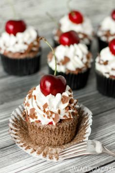 Black Forest Cupcakes - use for frosting and filling