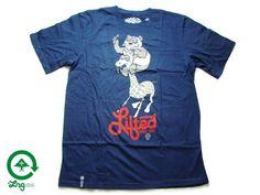 """【LRG】【エルアールジー】 Tシャツ """"PANDA ROLLING"""" TEE ネイビー M-2XL【半そで】【T-シャツ】【BLACK】【B系】【ヒップホップ】【BIG SIZE】【ビッグサイズ】【HIP-HOP】【NEW YORK】【ブルー】【ベイエリア】【あす楽】【楽天市場】"""