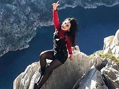 Woman falls to death while posing for cliffside photo to celebrate end of lockdown Starbucks Caramel Frappuccino, Homemade Frappuccino, Frappuccino Recipe, Hanging Fruit Baskets, Parmesan Chicken Wings, Coffee Branding, Antalya, The Locals, Yorkie