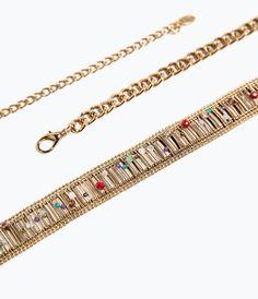 Image 2 of GOLD MESH BELT from Zara