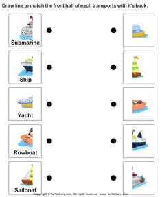 Air transportation worksheets for kindergarten Transportation Preschool Activities, Transportation Worksheet, Transportation Activities, Toddler Learning Activities, Preschool Printables, Preschool Crafts, Science Worksheets, Kindergarten Worksheets, Worksheets For Kids