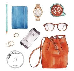 Cr pic from: Good objects Draw daily by Valeria Rienzi