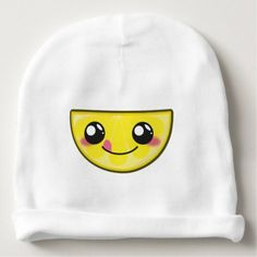 #cute - #Kawaii fun and funny lemon baby beanie
