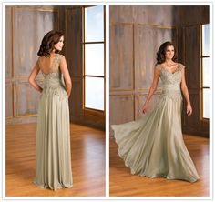 Cheap shipping wedding dress, Buy Quality dress wholesale free shipping directly from China dress clothes for babies Suppliers: Classical Cap Sleeve V-neck Formal Dresses Half Sleeve Appliques A-Line Floor-Length Mother Dresses vestido de festa lon