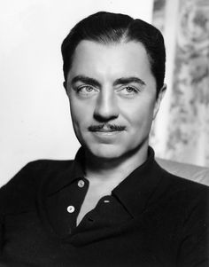 William Powell as The Thin Man. Hollywood Stars, Hollywood Men, Old Hollywood Movies, Hollywood Icons, Golden Age Of Hollywood, Classic Hollywood, Vintage Hollywood, Old Movie Stars, Classic Movie Stars