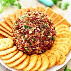 Every Christmas I make this Bacon Ranch Cheese Ball Wehellip