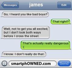 So, I heard you like bad boys?