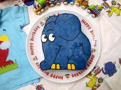 Der kleine Elefant - Torte