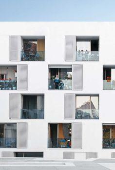social housing fór elderly people - GRND82, Barcelona: social housing fór elderly people - GRND82, Barcelona