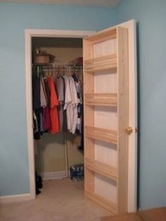 Very Cheap and Creative Storage Hacks for Small Apartments - Page 66 of 74 - Very Cheap and Creative Storage Hacks for Small Apartments – Page 66 of 95 Best Picture For - Diy Wall Decor For Bedroom, Diy Bedroom, Bedroom Furniture, Bedroom Diy Teenager, Bedroom Closet Storage, Diy Storage Headboard, Small Space Bedroom, Diy Regal, Small Space Storage