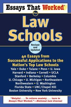 Law school applicants should consider this a guide to producing acompetitive, superior essay. . . . These successful examples speak louder thanany written how-to instructions could. –The Book Watch Each year, thousands of people apply to the most prestigious law schoolsacross the country, competing for an ever-smaller number of spaces. But eachapplicant gets one chance to distinguish himself or herself from the pack: thelaw school application essay. In the essay, you can spotlight the quali Law School Application, College Application Essay, College Admission Essay, College Essay, Resume Writing, Essay Writing, Writing Skills, Good Lawyers, Online College