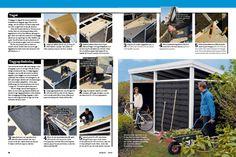 Byg et skur af færdige hegn