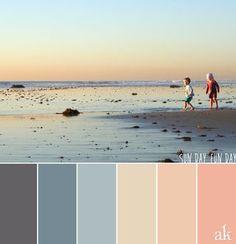 a sunset-inspired color palette | Akula Kreative | Bloglovin'