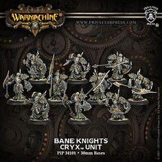 Warmachine Cryx Bane Knights-Cryx-Warmachine