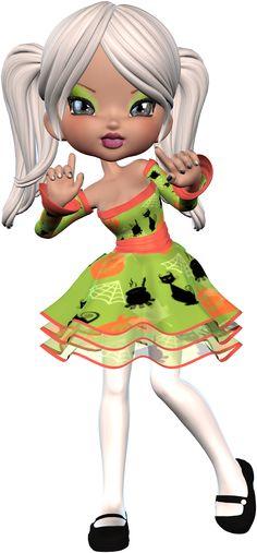 Tubes poupées poser - (page - thinou Cartoon Crazy, Cute Cartoon, Cute Little Girls, Cute Kids, Glitter Girl, Bratz Doll, Monster High Dolls, Cute Images, Cute Dolls