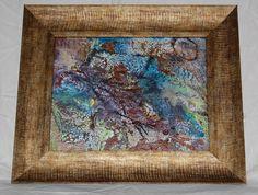 encaustic wax paints with shellac burn Shellac, Wax, Painting, Painting Art, Paintings, Painted Canvas, Laundry