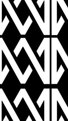 M and M logo wallpaper:)