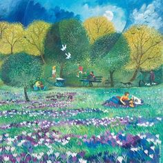 Spring At Kew   by Lisa Graa Jensen