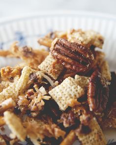 Sweet and spicy snack mix.