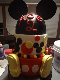 big Mickey Cake
