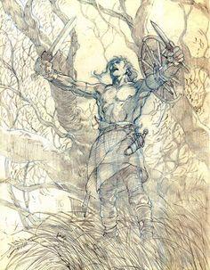 Conan the Barbarian ~ Barry Windsor Smith.
