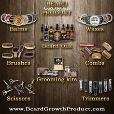 Do you like beards? Who doesn`t. Ladies are you looking for a perfect Valentine present for your man? Or if you are a man with a beard or you want to grow one? Take a look at www.BeardGrowthProduct.com for a variety of products like oils, balms, waxes, combs, brushes, scissors, trimmers and grooming kits to give you everything you need in one stop to make sure your beard is tamed and soft. Check us out at www.BeardGrowthProduct.com