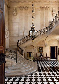 ♔ Château d'Anet ~ Anet Eure et Loire.                                                                                                                                                     More House Plans, Mansions, Architecture, House Styles, Home Decor, Stairs, Mansion Houses, Homemade Home Decor, Ladder
