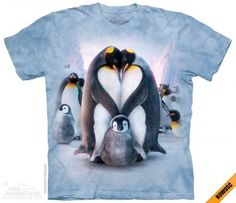 Penguin Heart - The Mountain - koszulka z pingwinami - www.veoveo.pl
