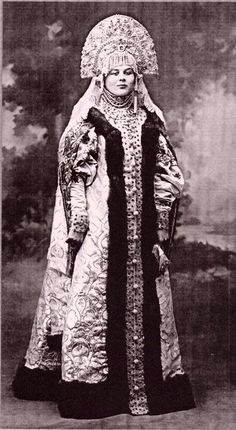 photographs taken during the Imperial Costumed Ball of 1903,