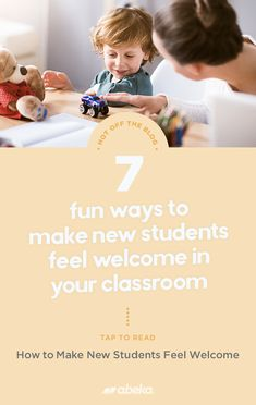 The beginning of a school year means lots of new faces. Here are some fun ways you can make each and every student feel welcome in your classroom. Christian School, New Students, New Face, Some Fun, Welcome, Faces, Classroom, Teacher, Feelings