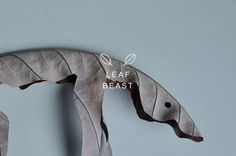 LEAF BEAST by Baku Maeda on Behance