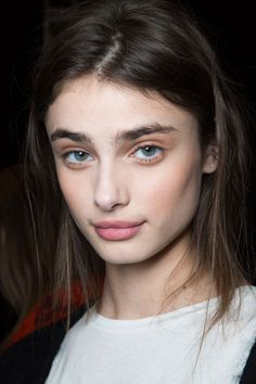 BCBG models sported bohemian-inspired beauty looks down the Fall 2015 runways.