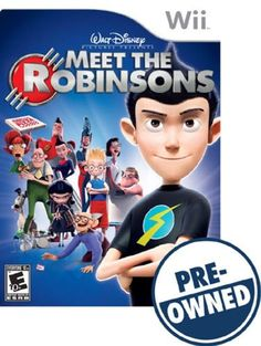 Disney's Meet the Robinsons - PRE-Owned - Nintendo Wii, 63101