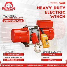 Heavy Duty Electric Winch! - - #indotara #indotarapersada #ptindotarapersada #ptindotara #winchelektrik #hoist #electrichoist #wireropehoist #winchsafety #heavyduty #heavydutyequipment Electric Winch