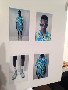 SS15 - TOPMAN Design LC:M SS15. Model board. Floral look http://tpmn.co/1lnsalu  Here's a few behind the scenes pictures from our TOPMAN Design LC:M SS15 show. We had a great turnout and even 3D scanned and printed our models, celebs and members of the press!