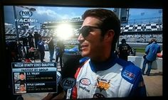 Our first fire suit on a XFINITY NASCAR driver and it was shown on FOX - JJ Yeley.