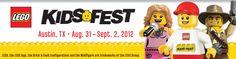 Lego KidsFest in August
