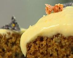 Carrot cake from Rachel Allen's recipe--the best one I have ever tasted...divine!