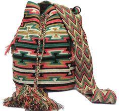 www.mochilaswayuubags.com whatsapp +57 320 345 9226 #wayuu #crochet #handmade #crochet #boho #bohostyle #bohochic #hippie #cartagena Tribal Bags, Tapestry Bag, Boho Fashion, Purses And Bags, Boho Chic, Backpacks, Crochet Bags, Handmade, Shopping