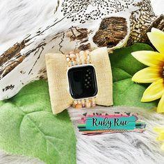 Beaded Apple Watch Bands – Ruby Rue Jewelry & Accessories Striped Earrings, Cactus Earrings, Rhinestone Earrings, Turquoise Pendant, Leather Earrings, Apple Watch Bands, Jewelry Accessories, Bracelets, Jewelry Findings