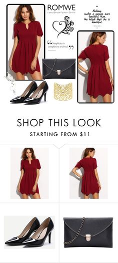 """ROMWE - 9/5"" by thefashion007 ❤ liked on Polyvore featuring Vélizance"