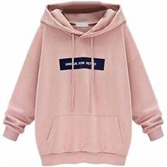Honey GD Womens Hooded Hoodies Long Sleeve Blouse 2 Striped Outwear