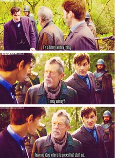 The War Doctor is my new favorite... #DoctorWho
