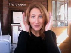 Sign Language: Learn 10 Halloween signs for Baby and Toddlers Baby Sign Language Video, Sign Language For Toddlers, Sign Language Phrases, Sign Language Interpreter, Learn Sign Language, Speech And Language, Language Lessons, Baby Storytime, British Sign Language