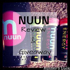 Nuun Energy Giveaway!! Ends 6/18! http://zanetaruns.blogspot.com #nuun #giveaway