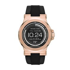 Michael Kors Access Dylan Touchscreen Smartwatch - Men Wrist Watch on YOOX. The best online selection of Wrist Watches Michael Kors Access. Zendaya, Bracelet Silicone, Track Workout, Wearable Technology, Unisex, Smartwatch, Michael Kors Watch, Michael Watches, Smartphone