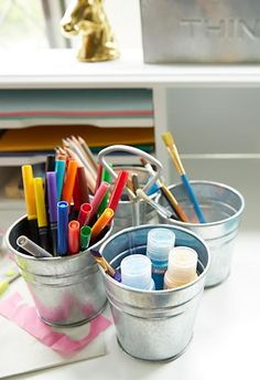 I could've been somebody. I could've been an art caddy in someone's home. I could've stored all sorts of things like markers, paintbrushes, craft supplies and more. Wait a second, I can. Never mind. Sorry for being so dramatic.