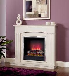 Buy Electric Suite Fire Place - Be Modern Linmere - Almond Surround - Log Effect securely online today at a great price. Electric Suite Fire Place - Be Modern Linmere - Almond S. Electric Fire And Surround, Modern Electric Fires, Electric Fire Suites, Electric Fireplace Suites, Modern Electric Fireplace, Electric Fireplaces, Fire Surround, Luxury Bedroom Sets, Luxurious Bedrooms
