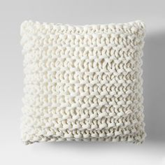 Large Knit Throw Pillow - Project 62™ : Target ($35) via Polyvore featuring home, home decor, throw pillows, target accent pillows, target toss pillows, target throw pillows, target home decor and knit throw pillow