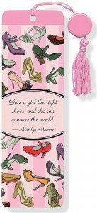 Designer Shoes Bookmark, Books & Gifts, Beaded Bookmarks, Peter Pauper Press